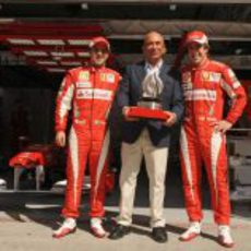 Massa, Botín y Alonso