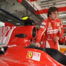 Alonso y su F10