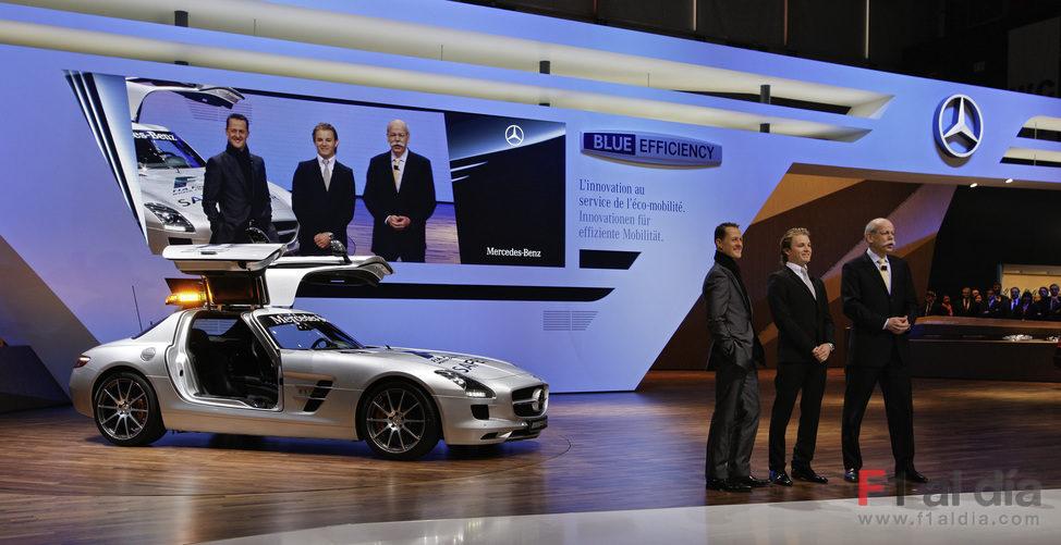El SLS AMG en Ginebra