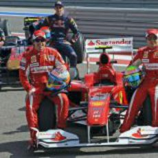 Fernando, el F10, y Felipe