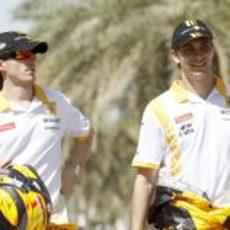 Kubica y Petrov en Bahréin