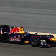 Sebastian en el Red Bull
