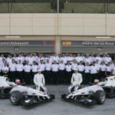 Foto de familia de Sauber