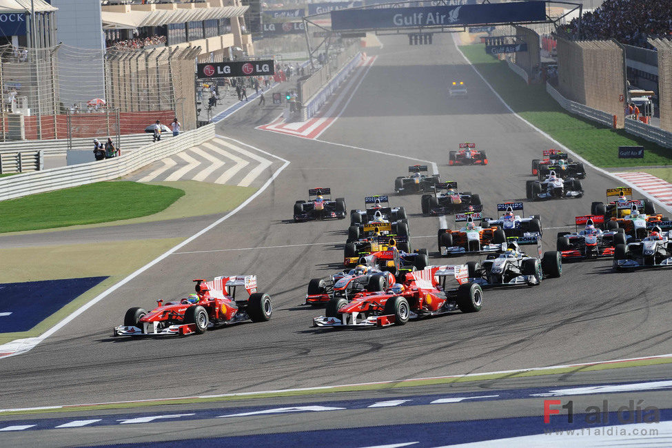 Alonso pasa a Massa por fuera