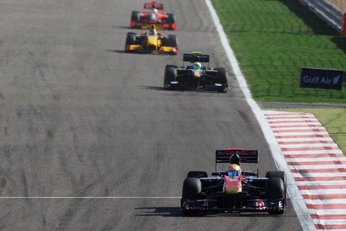 Alguersuari en su primer GP de 2010