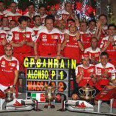 Alonso P1, Massa P2