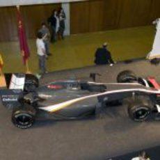 Hispania Racing presenta su monoplaza