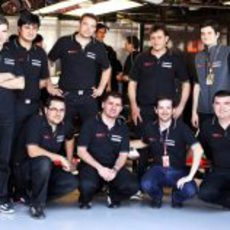 El equipo español de Hispania