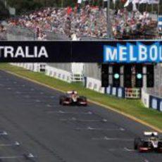Los dos HRT en Melbourne