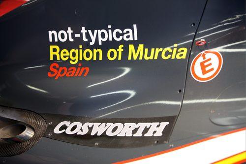 Nuevos logos en la cubierta del motor del HRT
