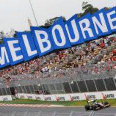 Bruno Senna en Melbourne 2010