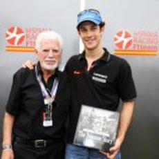 Ted Toleman y Bruno Senna