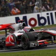 Jenson Button clasificó cuarto