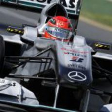 Michael Schumacher regresa a Australia en 2010