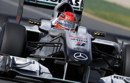 Michael Schumacher regresa a Australia en 2010