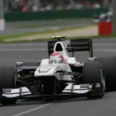 Kamui Kobayashi debuta en el GP de Australia 2010.