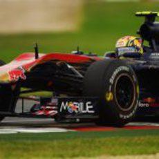 Jaime Alguersuari en su primer fin de semana en Australia