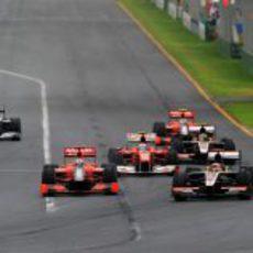 Alonso y Schumacher entre los nuevos