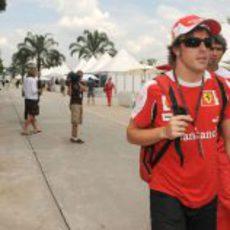 GP de Malasia 2010: miércoles, jueves y viernes