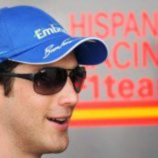 Senna en el GP de Malasia 2010