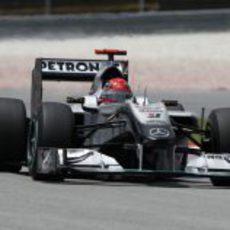 'Schumi' no quiere volver a ser superado por Rosberg