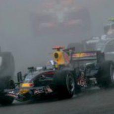Coulthard en mojado