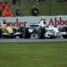 Kubica lucha con Piquet