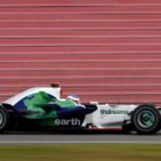 Jenson Button en los entrenamientos