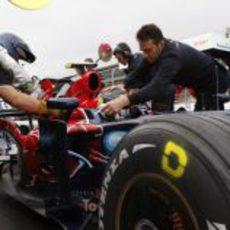 Vettel en el Toro Rosso