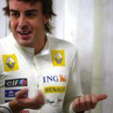 Alonso en el GP de Alemania