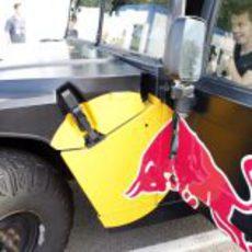 Vettel en el Toro Rosso Movil