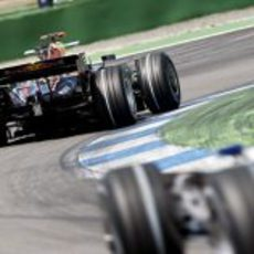 Coulthard en Hockenheim