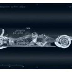 El TF109 pasa por los rayos X