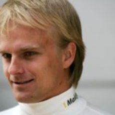 Heikki confia en poder acabar la carrera del domingo
