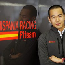 Sakon Yamamoto, piloto probador de Hispania Racing