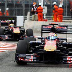 Buemi por delante de Alguersuari