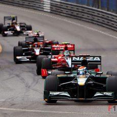 Trulli en el GP de Mónaco