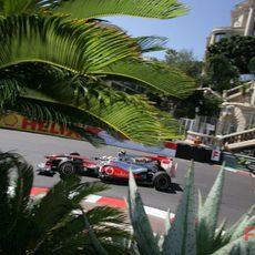 Hamilton en carrera