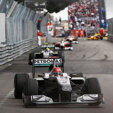 Schumacher y Rosberg
