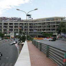 Los pilotos de Sauber