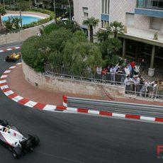 Los pilotos de Sauber no acaban