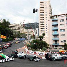 Los primeros instantes en Mónaco