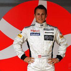 Christian Klien, nuevo probador del equipo Hispania