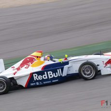 Carlos Sainz Jr. en un Fórmula BMW