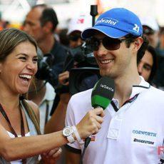 Nira Juanco entrevista a Bruno Senna en Mónaco
