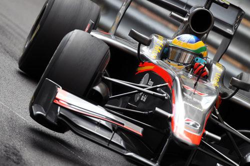 Bruno Senna en acción