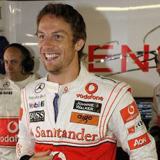 Button se las prometía muy felices antes de la carrera