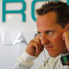 Schumacher se concentra