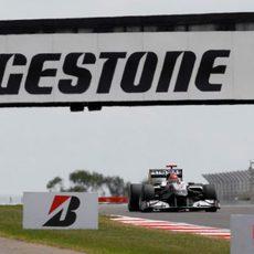 Schumacher en Silverstone