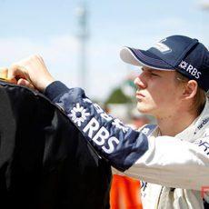Hulkenberg en Silverstone